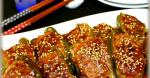British Stuffed Bell Peppers with Thick Sweet and Sour Sauce 1 Appetizer