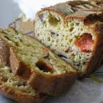 Canadian Savory Cake with Tomato and Rosemary Appetizer