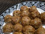 Indian Twisted Beef Koftas middleeastern Meatballs Appetizer