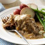 American Slowcooked Round Steak Appetizer