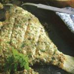 Canadian Turbot Baked Appetizer