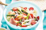 American Proscuitto And Asparagus Pasta Salad Recipe Appetizer