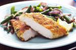 British Parmesan And Dijoncrusted Chicken Recipe Dinner