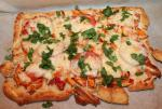 British Easy and Tasty Barbecue Chicken Pizza Dinner