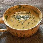 Canadian Cold Zucchini Soup with Curry Soup
