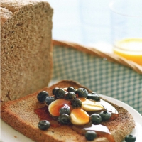 British Oatmeal and Blueberry Bread Appetizer