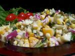 British Garden Corn Salad Appetizer