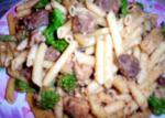 American Pasta With Chicken Sausage and Broccoli 2 Dinner