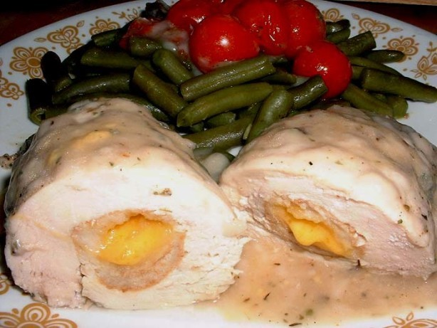 American My Stuffed Chicken Breasts Dinner