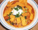 American Southwestern Black Bean Chili Dinner