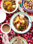 Moroccan Sweet Freekeh with Dates and Honey Appetizer