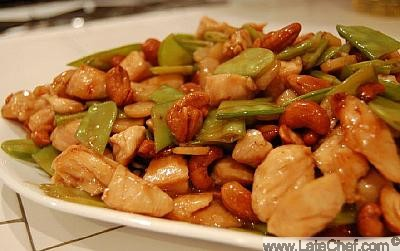 Chinese Cashew Chicken Appetizer