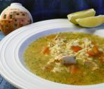Mexican Mexican Chicken Rice Soup caldo Cantina Appetizer