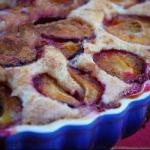 Canadian Plum Cake with Nutlets Dessert