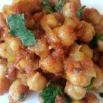 Canadian Curry of Chick Peas to the Tomato chana Masala Appetizer