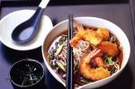 British Crumbed Prawns With Spicy Soba Noodles Recipe Appetizer