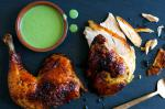 British Green Goddess Roasted Chicken Recipe Appetizer