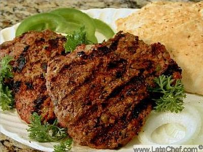 Armenian Flattened Kufta Dinner