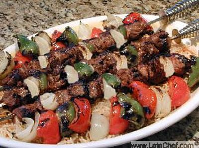 Pork Kebob BBQ recipe