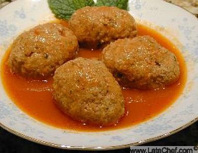 Armenian Stuffed Lamb Meatballs Harpoot Kufta Appetizer