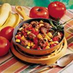 American Sausage and Vegetable Skillet Appetizer