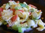 American Soft Scrambled Eggs With Smoked Salmon and Avocado Appetizer