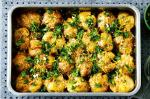 American Baked Smashed Potatoes With Gremolata Recipe Appetizer