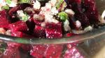 American Roasted Beets and Sauteed Beet Greens Recipe Appetizer