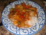 British My Sweet and Sour Chicken Dinner