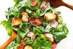 American Blt Salad with Buttermilk Dressing Appetizer