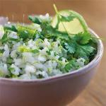 Mexican Mexican Rice with Fresh Coriander and Lime Dinner