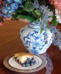 American Blueberry Sour Cream Cake 7 Dessert