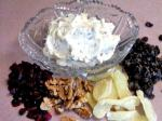 American Walnut Raisindried Cranberries Cream Cheese Spread Appetizer
