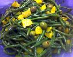 Australian Green Bean Orange and Green Olive Salad Dessert