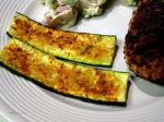 American Broiled Zucchini 2 Dinner