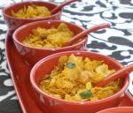Corn Flakes Chivda spicy Indian Snack Mix recipe
