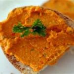 British Spicy Roasted Red Pepper and Feta Hummus Recipe Dinner