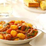 Australian Sausage Spinach and Gnocchi Appetizer