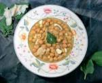 Spanish Spanish Chickpeas and Cod garbanzos Con Bacalao Appetizer