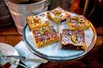 Mexican Lime Squares With Raw Sugar Shortbread Recipe Dessert