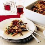 American Macaroni Stew with Sausage Appetizer