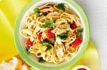 British Chicken And Green Olive Tapenade Pasta Recipe Appetizer
