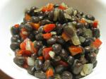 Australian Very Simple Black Beans caraotas Negras Appetizer