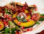 Winterlicher Vogerlsalat Mit Vanilledressing recipe