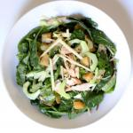 Australian Power Lunch Baby Kale Salad Loaded With Protein Dessert