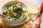 Australian Meatball Pasta With Salsa Verde Recipe Appetizer