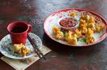 Chinese Pork and Chinese Five Spice Dumplings with Homemade Sweet Chilli Sauce Appetizer
