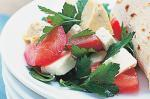 American Feta Tomato And Artichoke Salad Recipe Appetizer