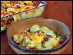 American The Ultimate Baked Potato Salad Appetizer
