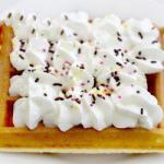 Canadian Waffles in the Sunday Afternoon Dessert